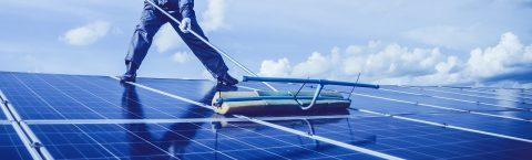 Equipo de limpieza para paneles solares